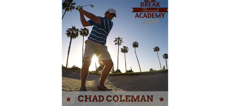 Combining work and life passions: social media and golf with Chad Coleman